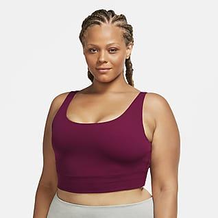 Nike Yoga Luxe Women's Infinalon Cropped Tank (Plus Size)