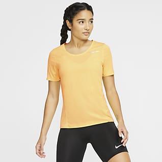 Nike City Sleek เสื้อวิ่งแขนสั้นผู้หญิง