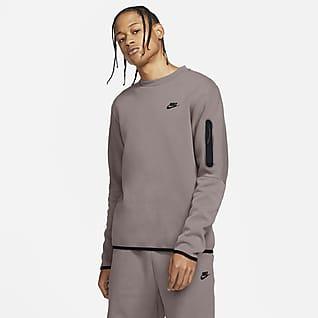 Nike Sportswear Tech Fleece Pánská sepraná mikina skulatým výstřihem