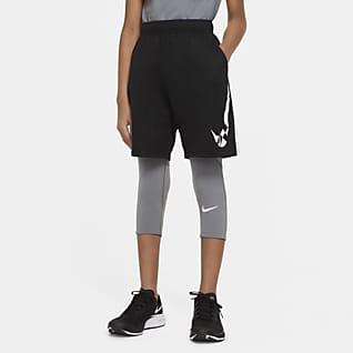 Nike Pro Mallas de 3/4 para niño talla grande