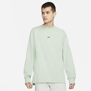 Nike Sportswear Style Essentials Pánské tričko sdlouhým rukávem astojáčkem