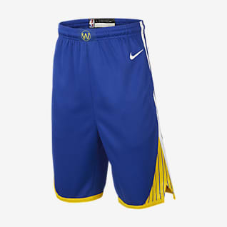 Golden State Warriors Icon Edition Nike NBA Swingman Shorts für ältere Kinder