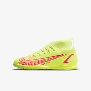 Nike Jr. Mercurial Superfly 8 Club IC Little/Big Kids' Indoor/Court Soccer Shoe
