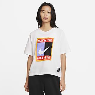 ナイキ スポーツウェア ウィメンズ ボクシー Tシャツ