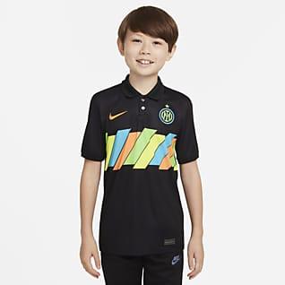 Tercera equipación Stadium Inter de Milán 2021/22 Camiseta de fútbol Nike Dri-FIT - Niño/a