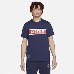 Paris Saint-Germain Wordmark T-shirt voor heren