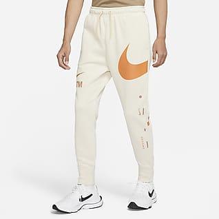 Nike Sportswear Swoosh กางเกงเฟรนช์เทรีขายาวผู้ชาย