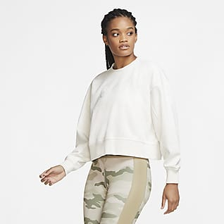 Nike Dri-FIT Get Fit Sudadera de entrenamiento con logotipo Swoosh - Mujer
