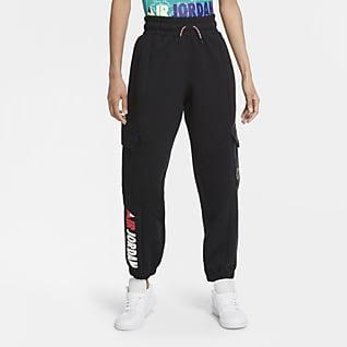 Jordan Winter Utility Pantalones de tejido Fleece para mujer