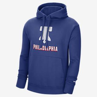 Philadelphia 76ers City Edition Logo Men's Nike NBA Pullover Hoodie