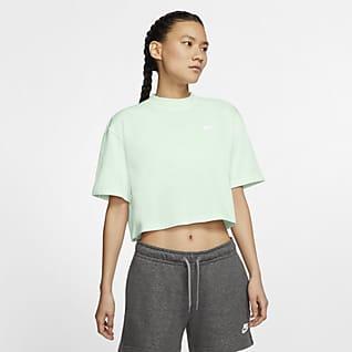 Nike Sportswear Part superior de màniga curta de punt - Dona