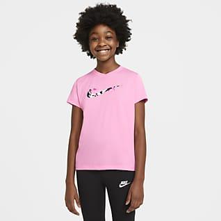 Nike Dri-FIT Playera para niña talla grande
