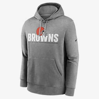 Nike Impact Club (NFL Cleveland Browns) Men's Pullover Hoodie