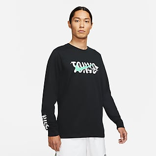Nike Dri-FIT Tokyo Uzun Kollu Koşu Tişörtü
