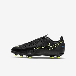 Nike Jr. Phantom GT Club MG Chuteiras de futebol multiterreno para criança/Júnior