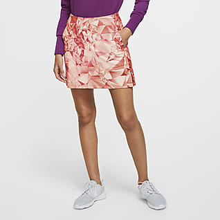 Nike Dri-FIT UV Victory Falda de golf de 43 cm con estampado - Mujer