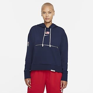 Nike Team USA Standard Issue Women's Pullover Basketball Hoodie