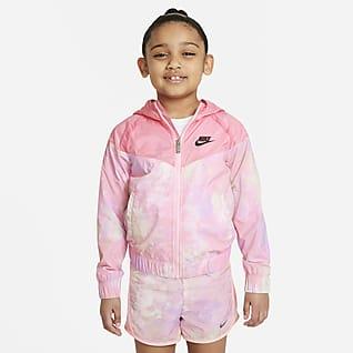 Nike Sportswear Windrunner Little Kids' Tie-Dye Full-Zip Jacket