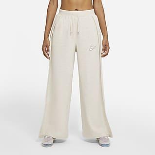 Nike Sportswear Calças em tecido moletão para mulher