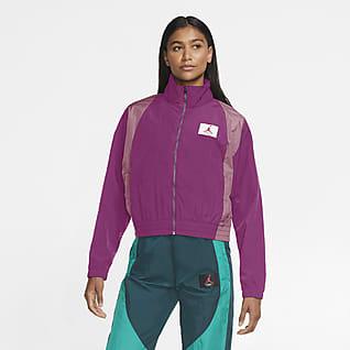 Jordan เสื้อแจ็คเก็ตแบบทอผู้หญิง