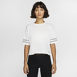 Nike Pro Samarreta de màniga curta estampada - Dona