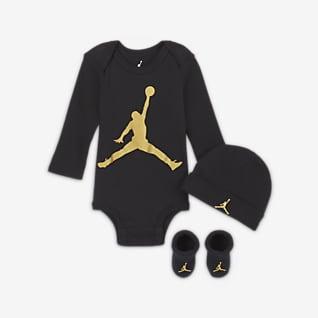 Jordan Sæt med body, hue og booties til babyer