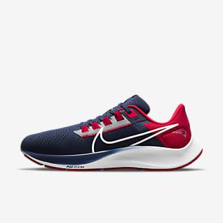 Nike Air Zoom Pegasus 38 (NFL New England Patriots) Men's Running Shoe