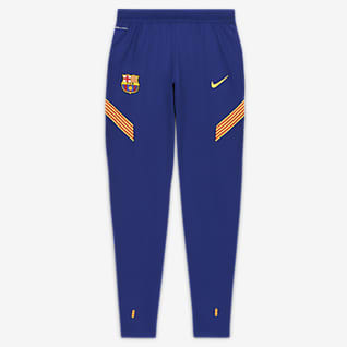 FC Barcelona VaporKnit Strike Pánské fotbalové kalhoty
