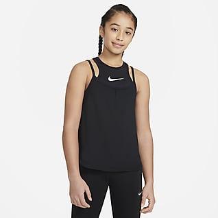 Nike Dri-FIT Big Kids' (Girls') 2-in-1 Training Tank