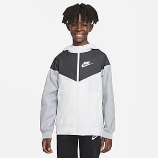 Nike Sportswear Windrunner Jakke til store barn (gutt)