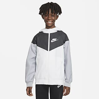 Nike Sportswear Windrunner Veste pour Garçon plus âgé
