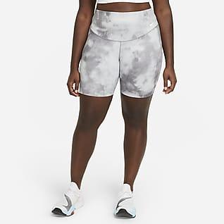 Nike One Icon Clash Shorts estampados de 18 cm para mujer talla grande Nike One Icon Clash