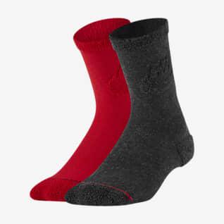 Nike Calcetines largos para niños talla pequeña (2 pares)