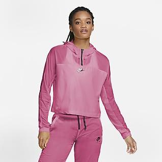 Nike Air Hardloopjack met capuchon voor dames