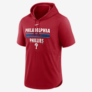 Nike Dri-FIT Home Team (MLB Philadelphia Phillies) Men's Hooded Short-Sleeve Top
