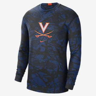 Nike College Dri-FIT Spotlight (Virginia) Men's Long-Sleeve Top