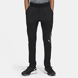 Nike Therma Big Kids' (Boys') Graphic Tapered Training Pants
