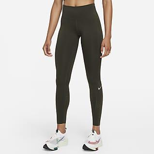 Nike Epic Luxe Løpeleggings med mellomhøyt liv til dame