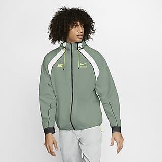 Nike Veste NSW HD Woven Bleu MarineRougeBlanc | www