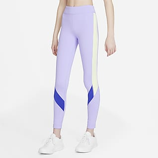 Nike Dri-FIT One เลกกิ้งเด็กโต (หญิง)