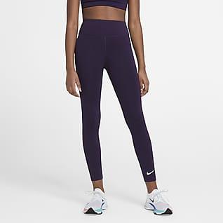 Nike One Leggings de entrenamiento de cintura alta para niñas talla grande