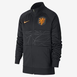 Nizozemí Fotbalová bunda pro větší děti