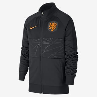Netherlands Older Kids' Football Jacket