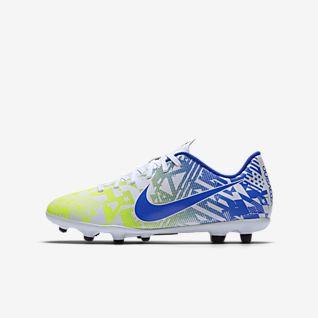 Nike Jr. Mercurial Vapor 13 Club Neymar Jr. MG Chaussure de football à crampons multi-surfaces pour Jeune enfant/Enfant plus âgé