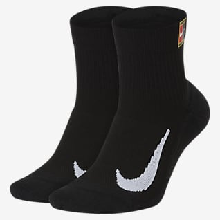NikeCourt Multiplier Max Calcetines hasta el tobillo (2 pares)