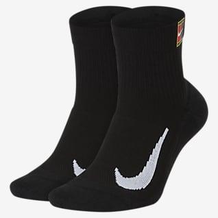 NikeCourt Multiplier Max Tennis Ankle Socks (2 Pairs)