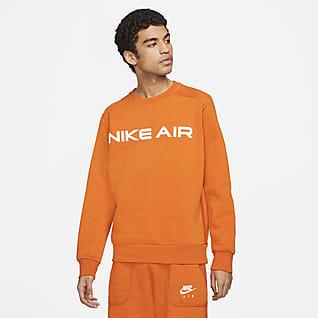 Nike Air Pánská flísová mikina skulatým výstřihem