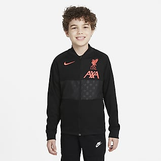 Liverpool FC Big Kids' Full-Zip Soccer Track Jacket