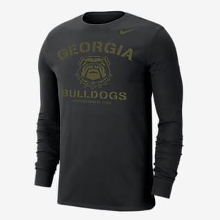 Nike College Dri-FIT (Georgia) Men's Long-Sleeve T-Shirt