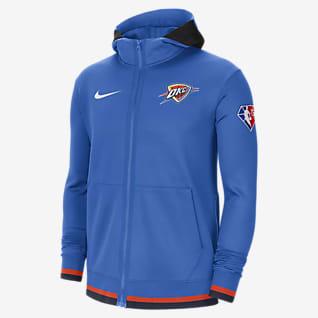 Oklahoma City Thunder Nike Showtime Men's Nike Dri-FIT NBA Full-Zip Hoodie